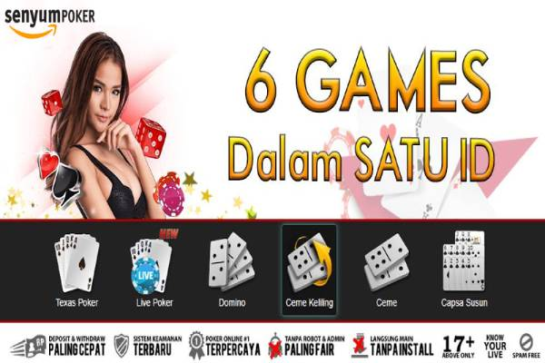 Senyumpoker Situs Poker Online Terpercaya di Indonesia